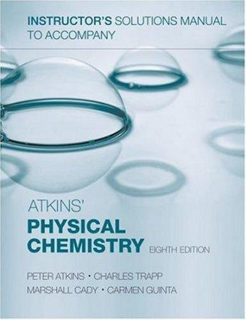 کتاب حل المسائل شیمی فیزیک اتکینز